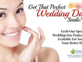 Wear Your Best Smile On Your Most Special Day!