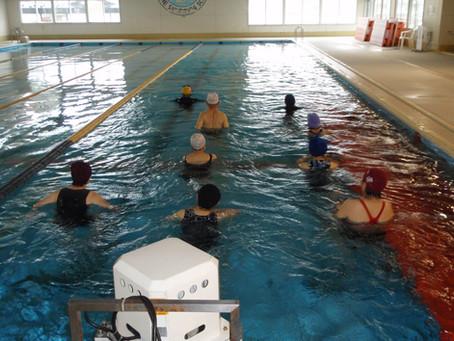 【流水健康コース】で顔を水に付けない水中運動はいかがですか?