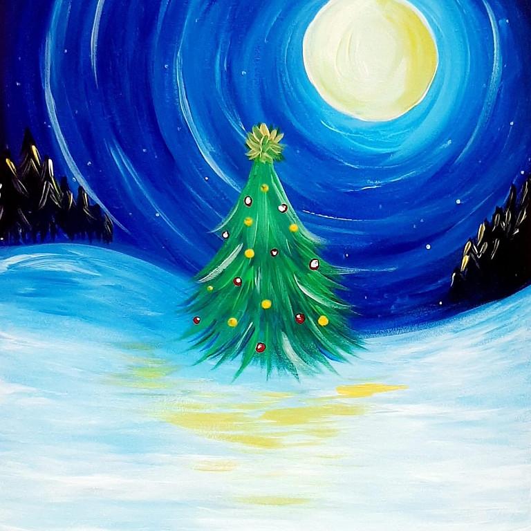 Degani Beenleigh - Learn to paint 'Christmas Tree'