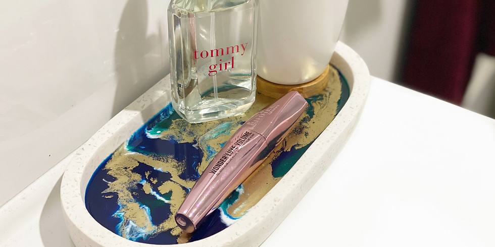 Coffee Club Browns Plains - Learn to make a resin vanity tray!