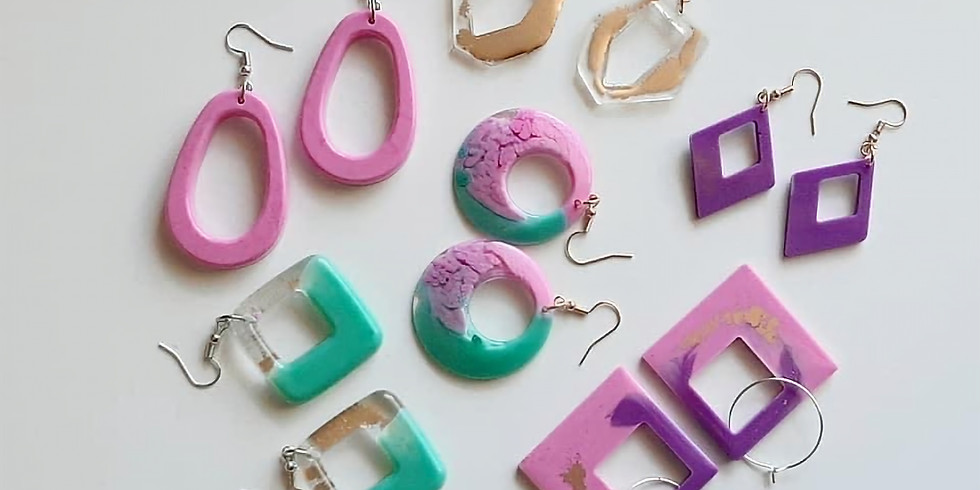 LOGANHOLME - Learn to make resin earrings!
