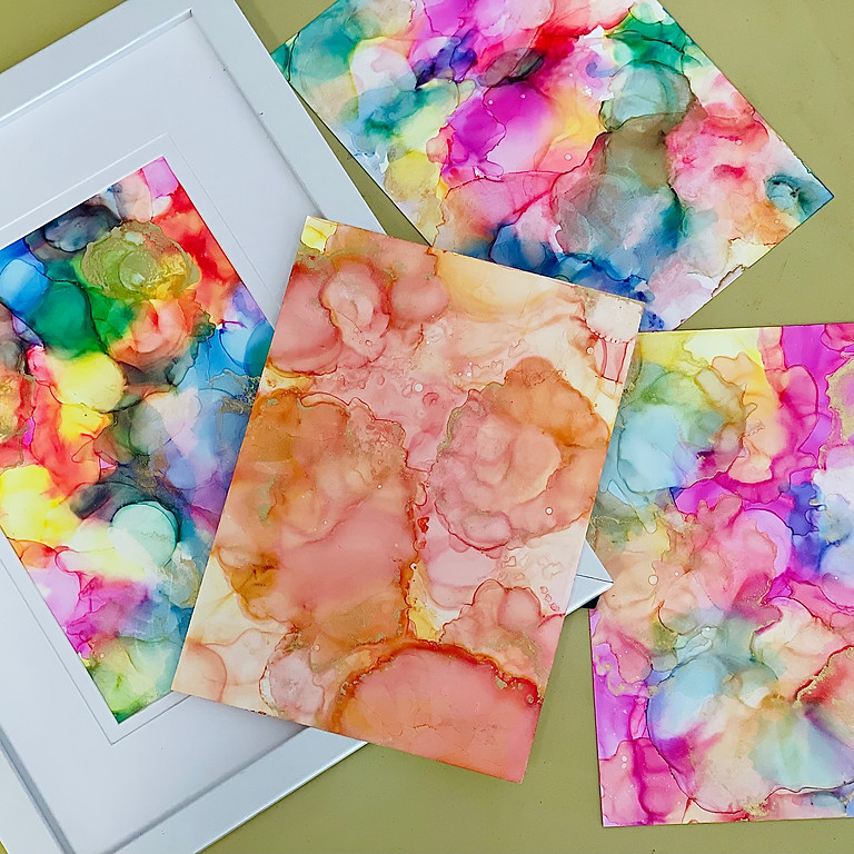 Coffee Club Hyperdome - Learn to alcohol ink art!