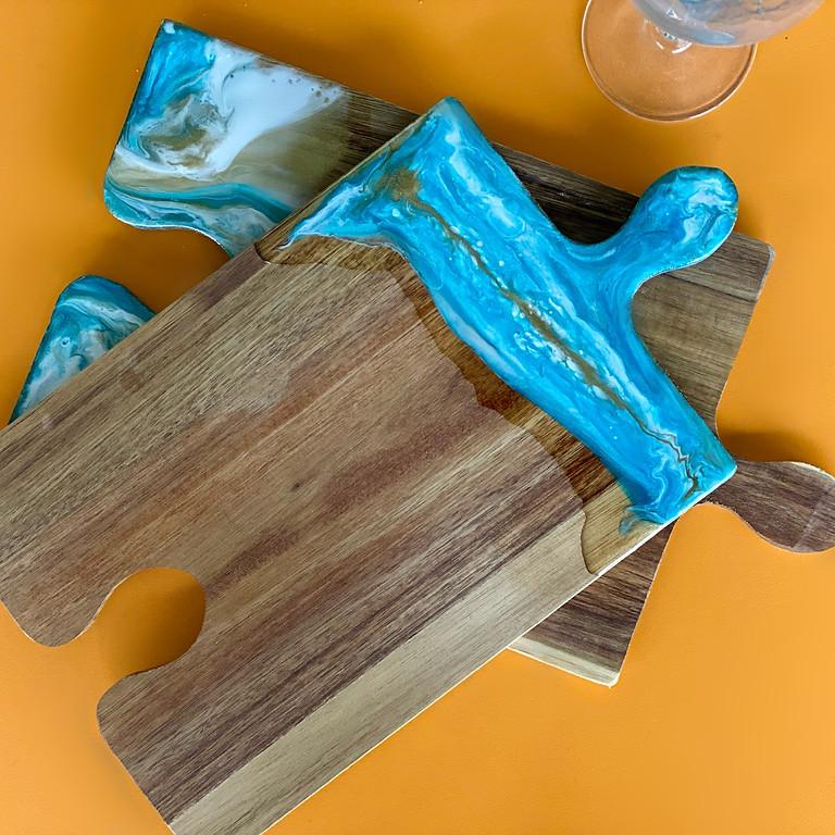 Coffee Club Hyperdome - Learn to make 2x snack trays!