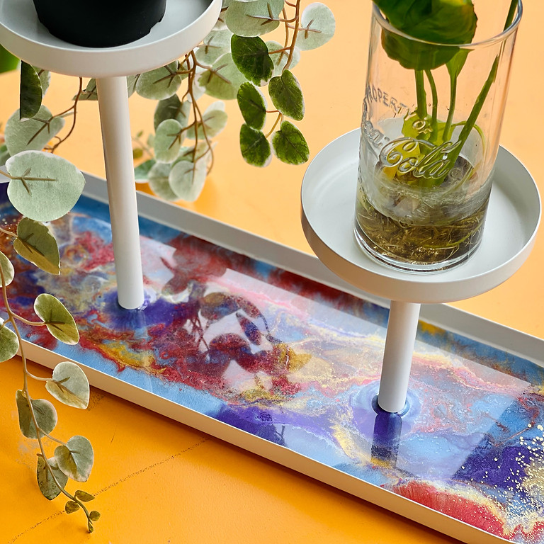 Coffee Club Hyperdome - Learn to make a resin plant stand!