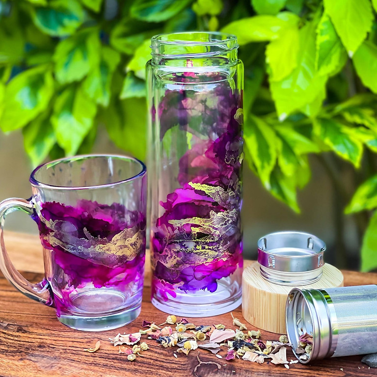 Coffee Club Browns Plains - Learn to make an alcohol ink tea infuser + matching cup!