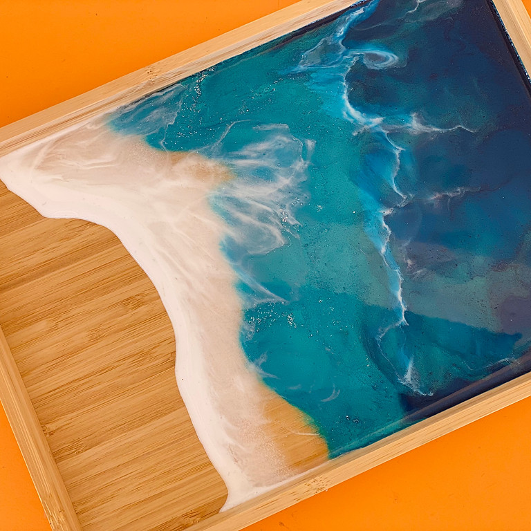 Coffee Club Hyperdome - Learn to make a wave style tea tray!