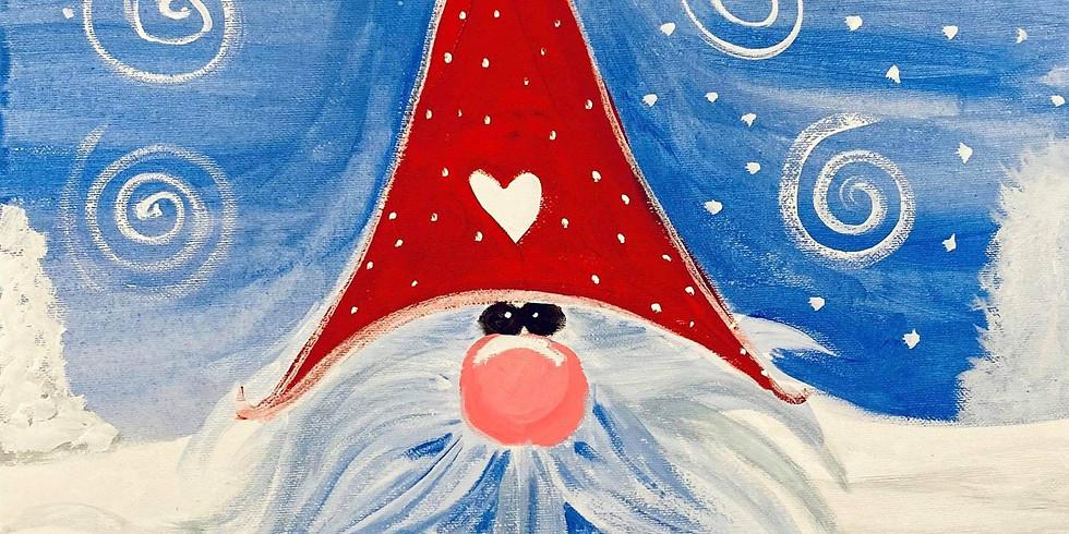 Mango Hill Tavern- Learn to Paint 'Cute Santa'