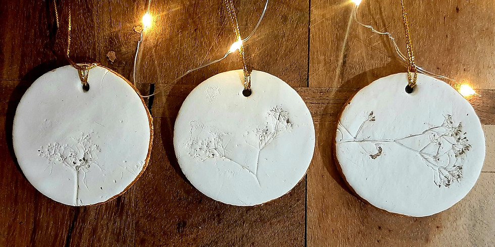 SPRINGFIELD - ORION - Learn to make air dry clay gift tags!
