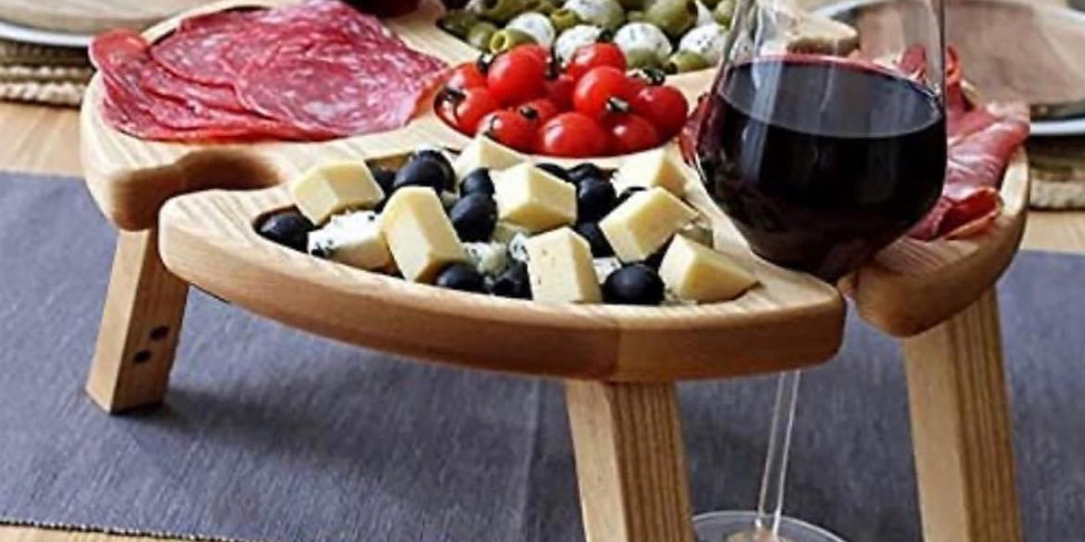 STUDIO - PRIVATE EVENT - Learn to make a resin picnic platter table (Tamara Crawford)