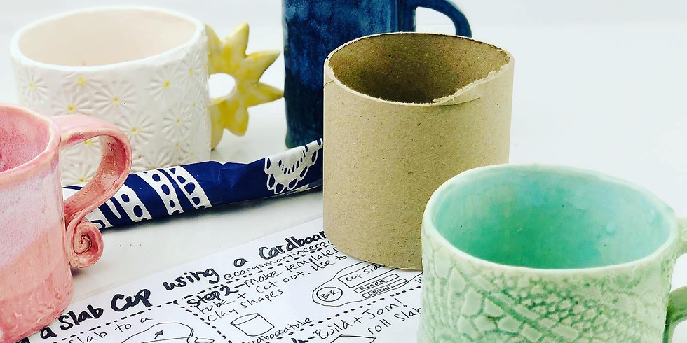 STUDIO - Pottery Class - Cup Making