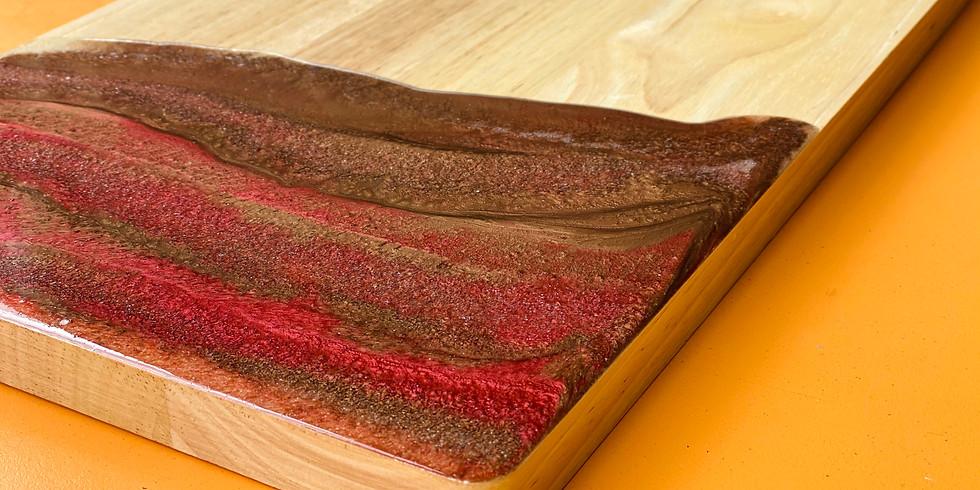 LOGANHOLME - Learn to make a resin board!