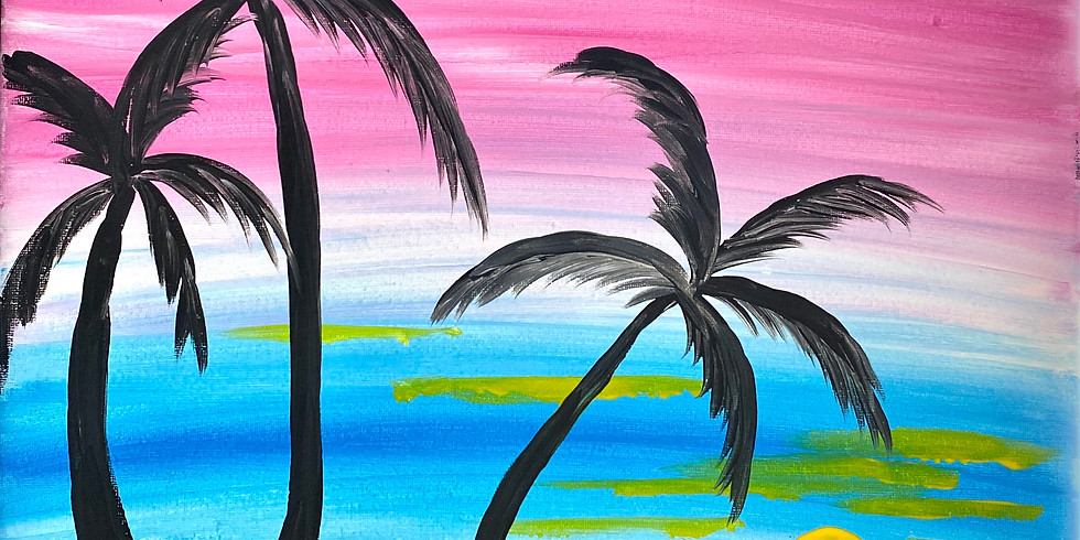 Coffee Club Browns Plains - Learn to paint 'Island Life'!
