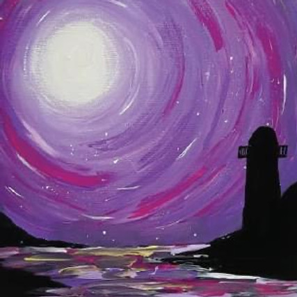 The Lighthouse Cleveland - Learn to paint 'Lighthouse'