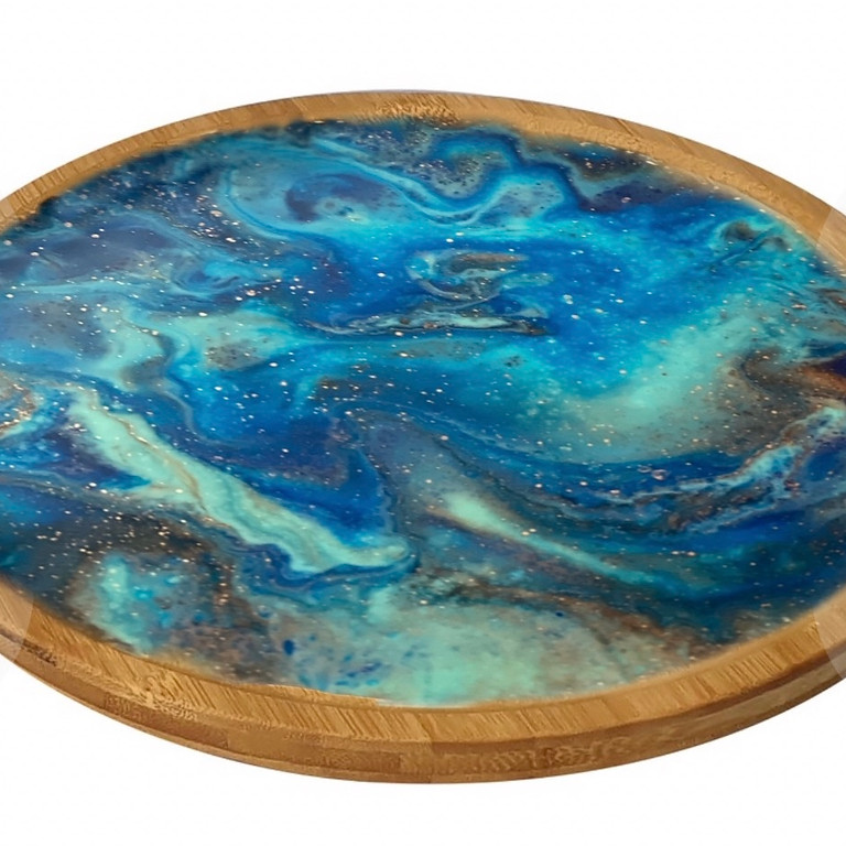 Coffee Club Hyperdome - Learn to make a resin condiment lazy susan!