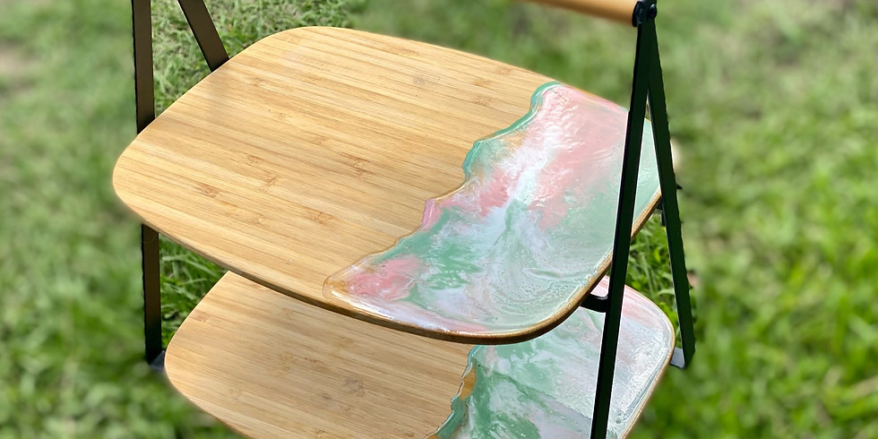 LOGANHOLME - Learn to make a resin two tier tray!