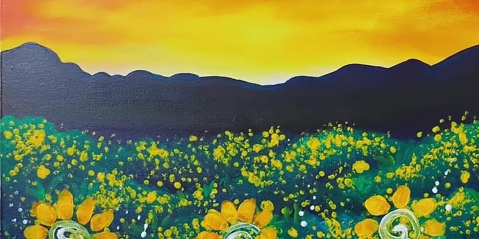 WACOL - Wolston Farm House - Sip and Paint 'Sunflower Field' with us!