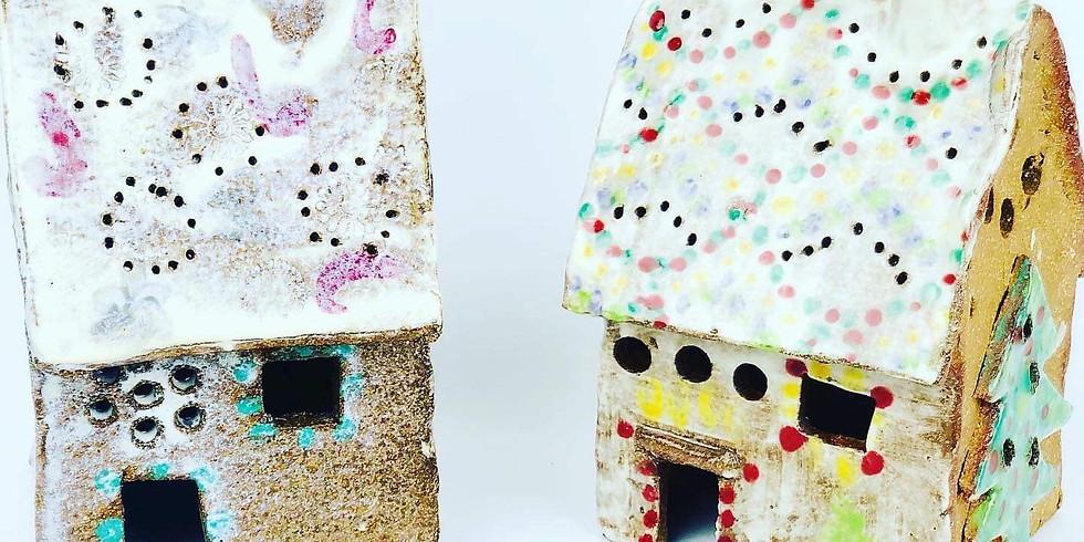 STUDIO - Pottery Class - Christmas House