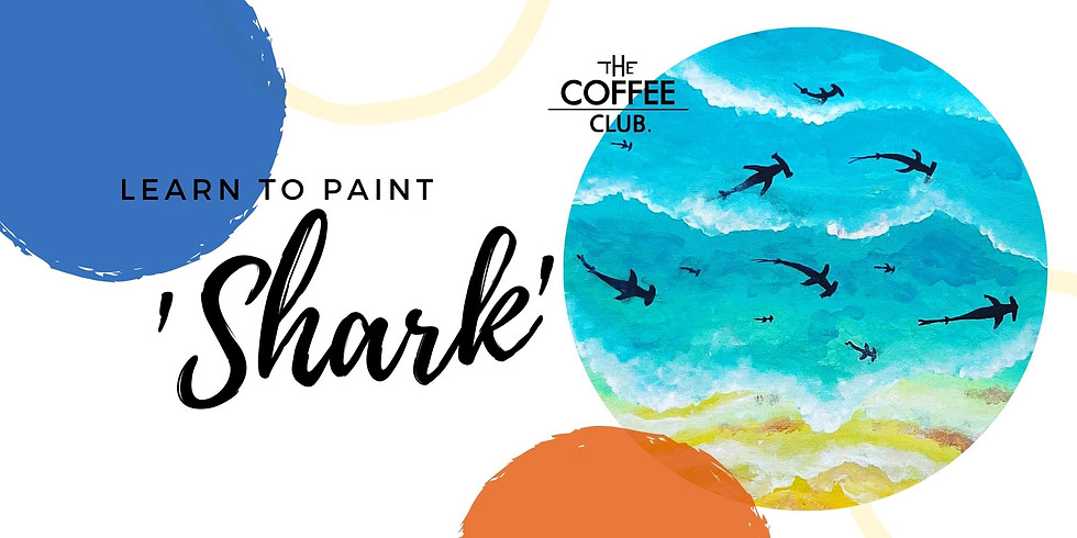 Orion Springfield - Sip 'n' learn to paint 'Shark'