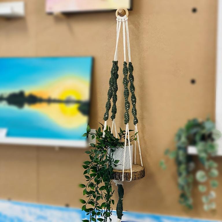 Coffee Club Browns Plains - Learn to make a macrame shelf hanging!