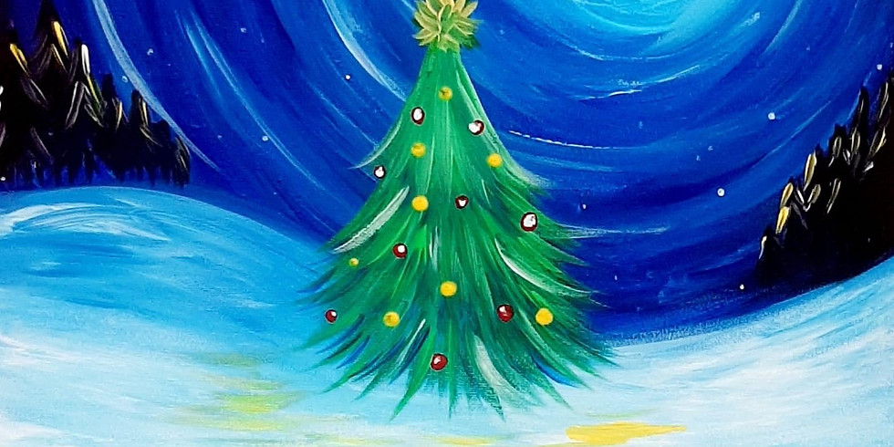 BEENLEIGH -  Learn to paint 'Christmas Tree'