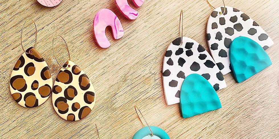 Fernvale- Polymer Clay Earring Class