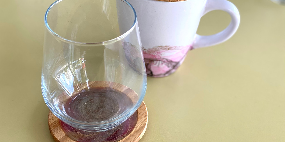 SPRINGFIELD - Learn to make resin coasters/drink lids!