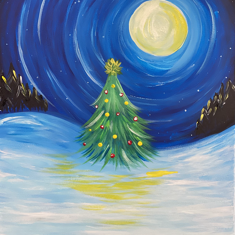 IPSWICH - JETS - Orion - Sip and Paint Christmas Class