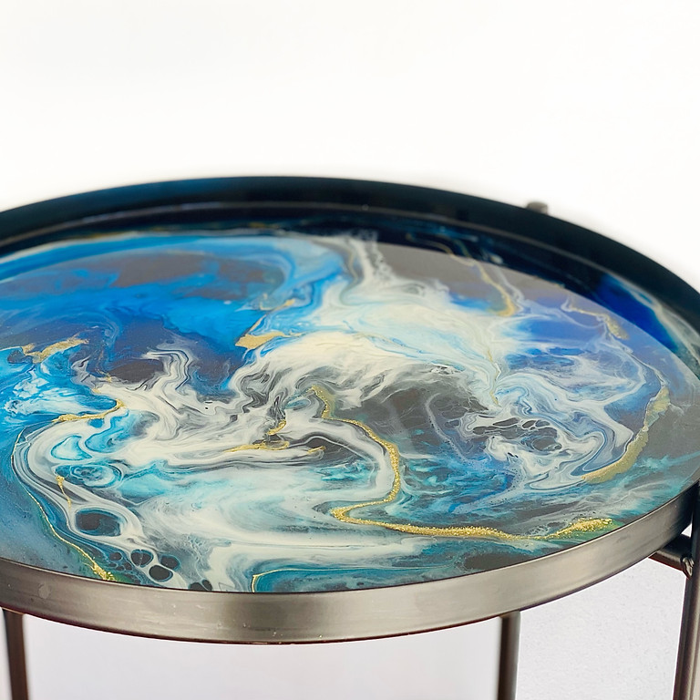 Degani Beenleigh - Learn to make a resin side table!