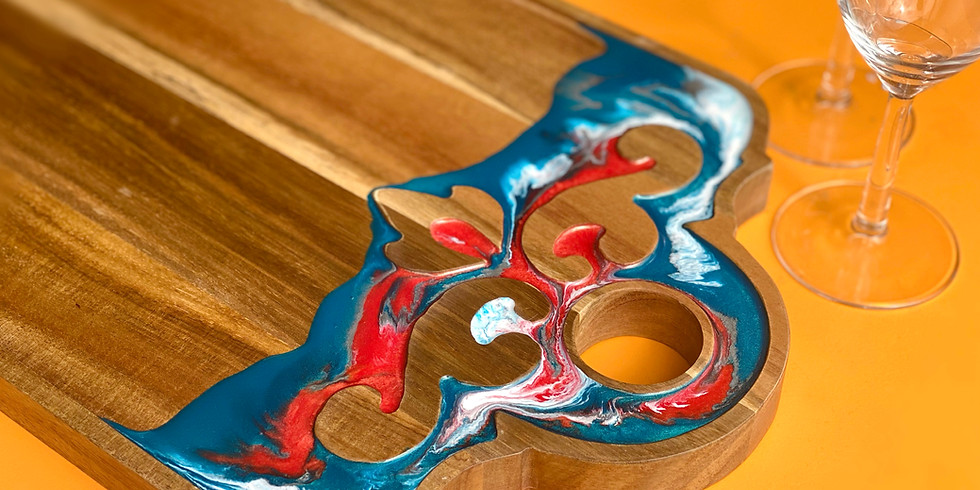 Degani Coorparoo - Learn to make a resin acanthus board!