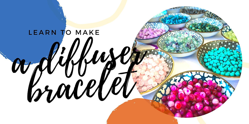 Fiori Kenmore - Grab a glass of wine and learn to make diffuser bracelet!