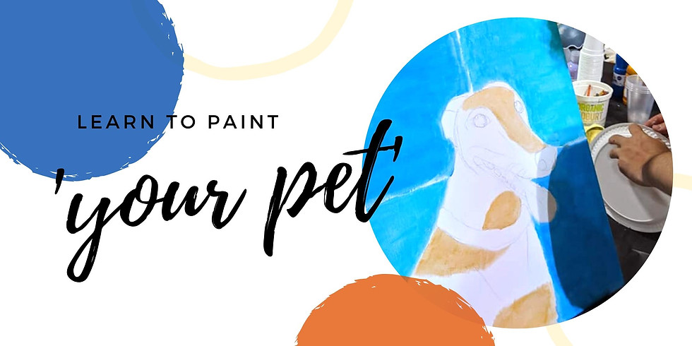 Moselles Springfield - Learn to paint your pet 'Andy Warhol style'!