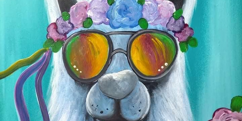 LOGANHOLME - Learn to paint 'Drama Llama'!