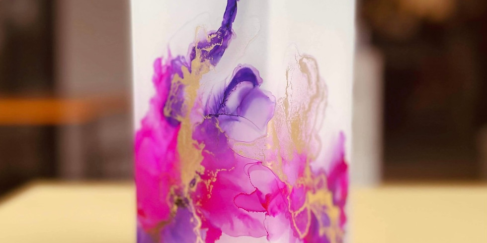 TENTERFIELD - Community College - Learn to make an Alcohol Ink Lamp!