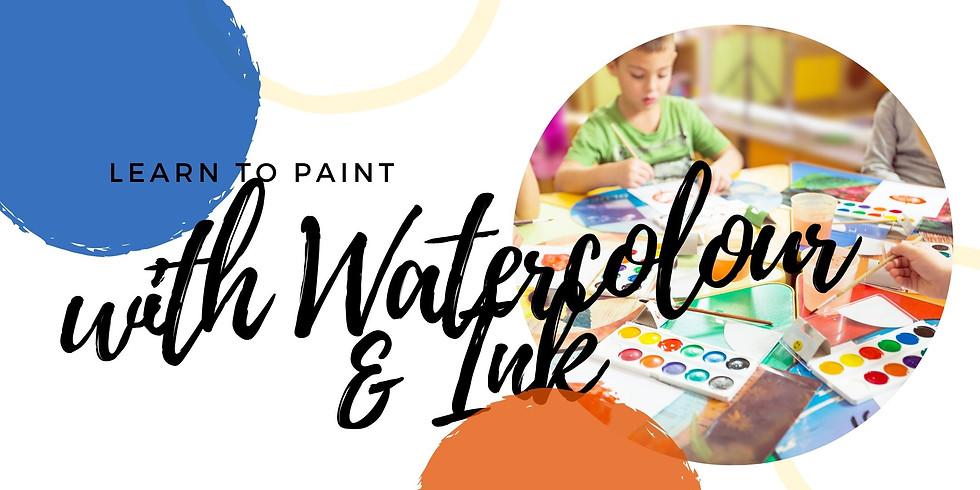 VIRUTAL CLASS - Kids Watercolour
