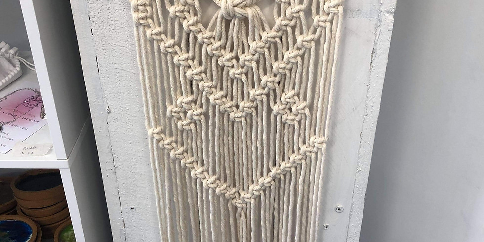 ORION - Learn to make a macrame wall hanging!