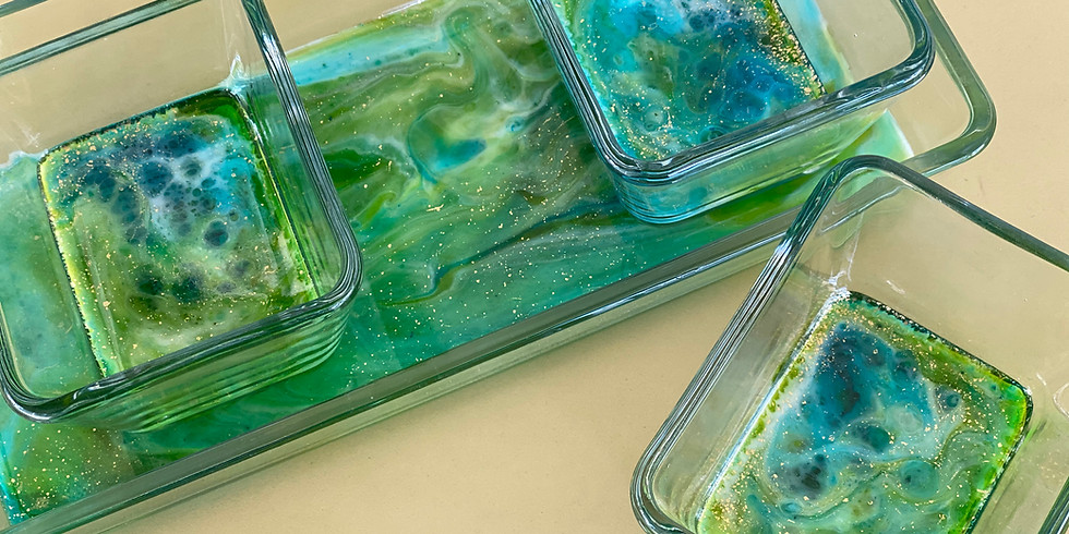 POSTPONED - SPRINGFIELD - Learn to make resin glass condiment set!