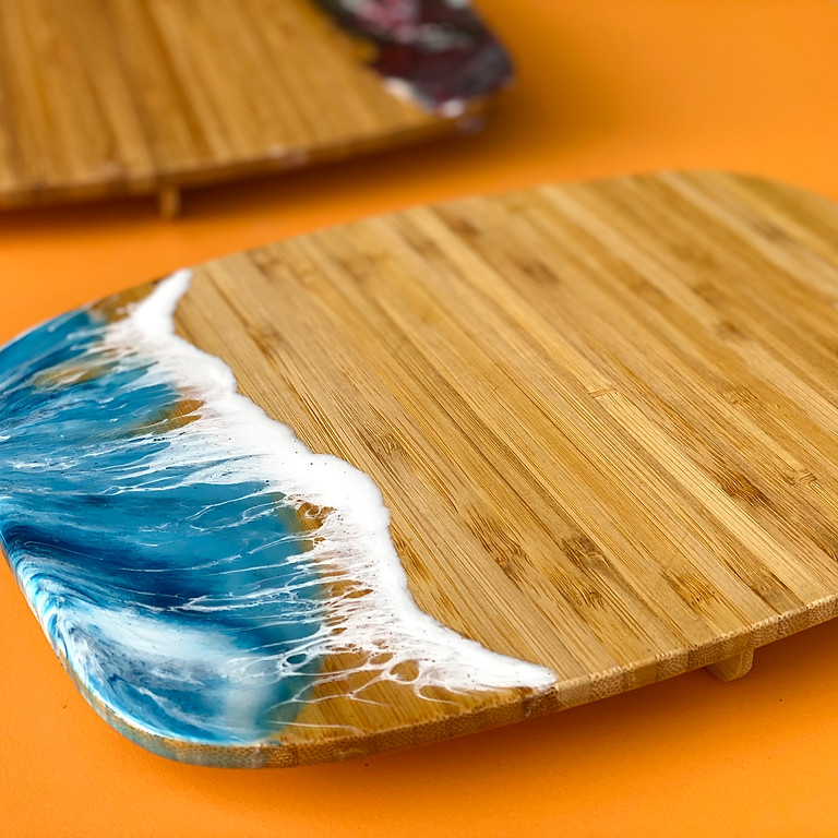 Coffee Club Hyperdome - Learn how to make resin 'Lazy Sunday' boards!