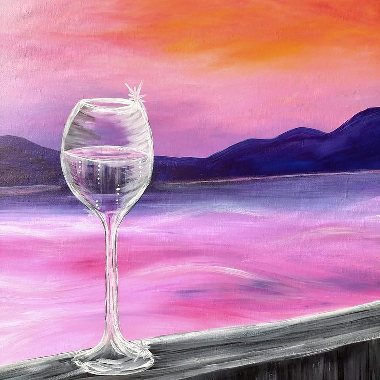 Sirromet Winery - Sip 'n Paint Wine Experience