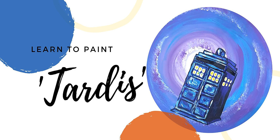 Arizona Redbank - Grab a glass of wine and learn to paint Dr. Who!