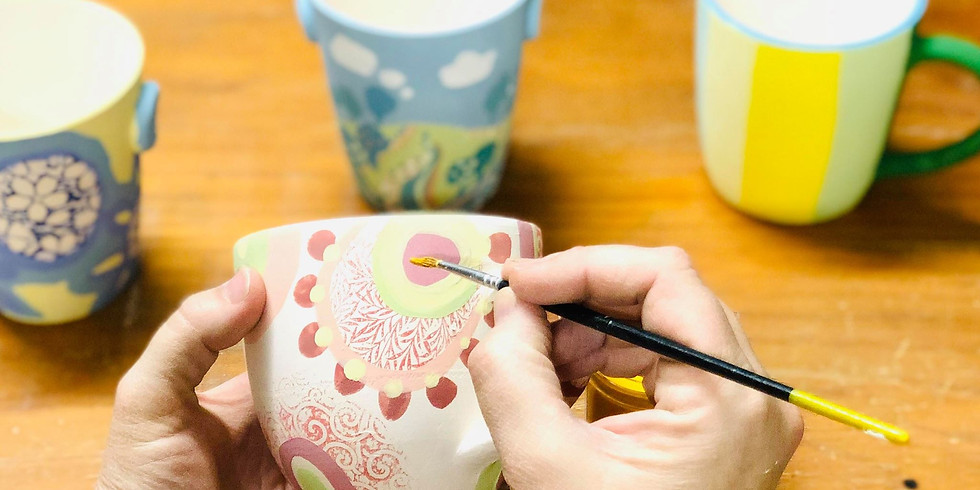 STUDIO - Hand paint your own travel cup or cup!