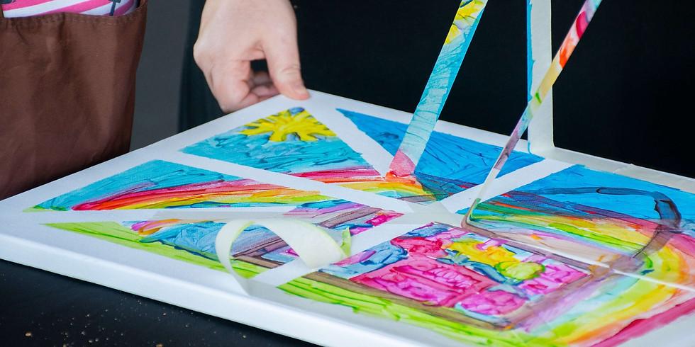 JETS - Kids Class - Tape 'n' Paint