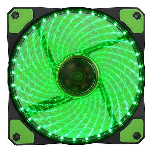 Vegas 120mm 1300RPM Green LED Fan