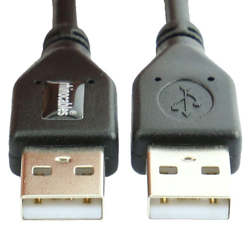USB 2.0 Type A Male to Male Data Cable 1 Metre, 2 Metre, 3 Metre