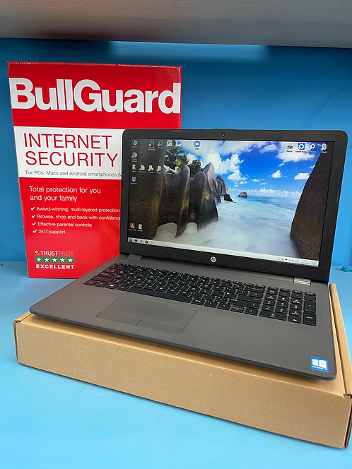 HP Refurbished Laptop Intel Core i3-6006U 2.00Ghz 8GB Ram 256GB SSD Windows 10