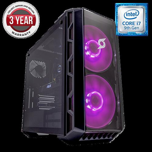 Crystal Intel i7 9700K 16GB Ram 250GB SSD 2TB HDD RTX 2060 6GB Graphics Win 10