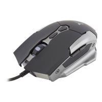 WHITE SHARK GAMING GM-1804 Umethon 3200dpi Gaming Mouse, Black/Silver