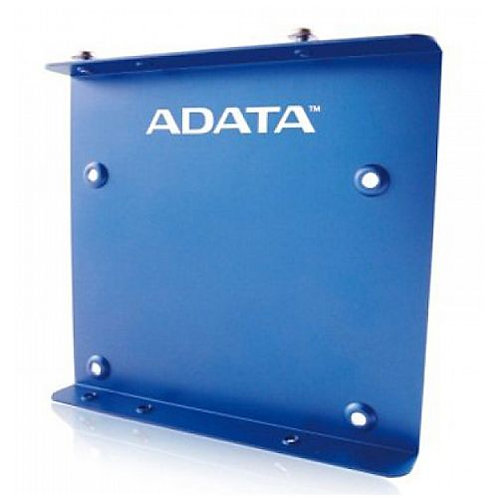 "Adata SSD Mounting Kit, Frame to Fit 2.5"" SSD or HDD into a 3.5"" Drive Bay, Blue"