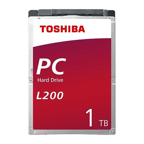 Toshiba L200 1TB SATA IIl 5400RPM 2.5 Inch 7mm Internal Hard Drive