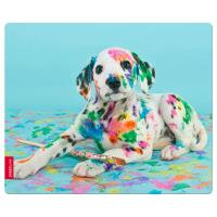 Silk Mousepad, Puppy Art