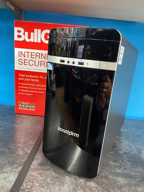 Zoostorm Refurbished PC Desktop Intel Pent Dual Core 3.30Ghz 8GB 500GB HD W10